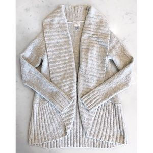 [A New Day] Oatmeal Chenille Cocoon Cardigan